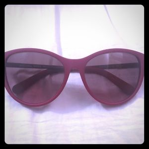 Michael Kors fuschia sunglasses